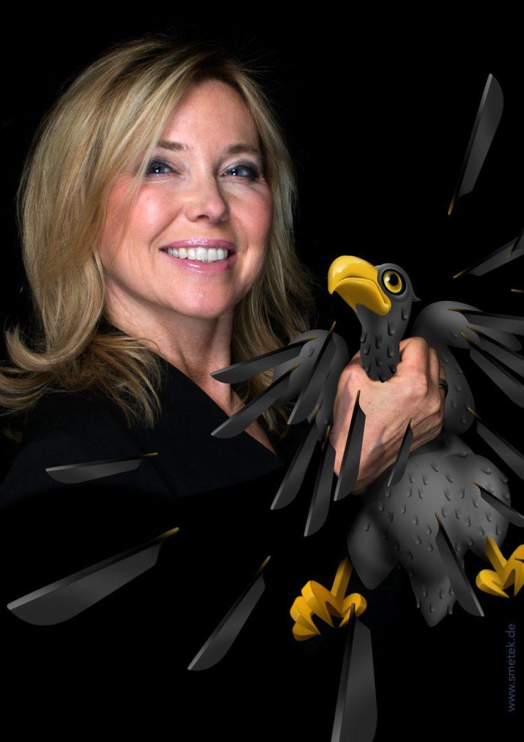 Kabarettistin Simone Solga