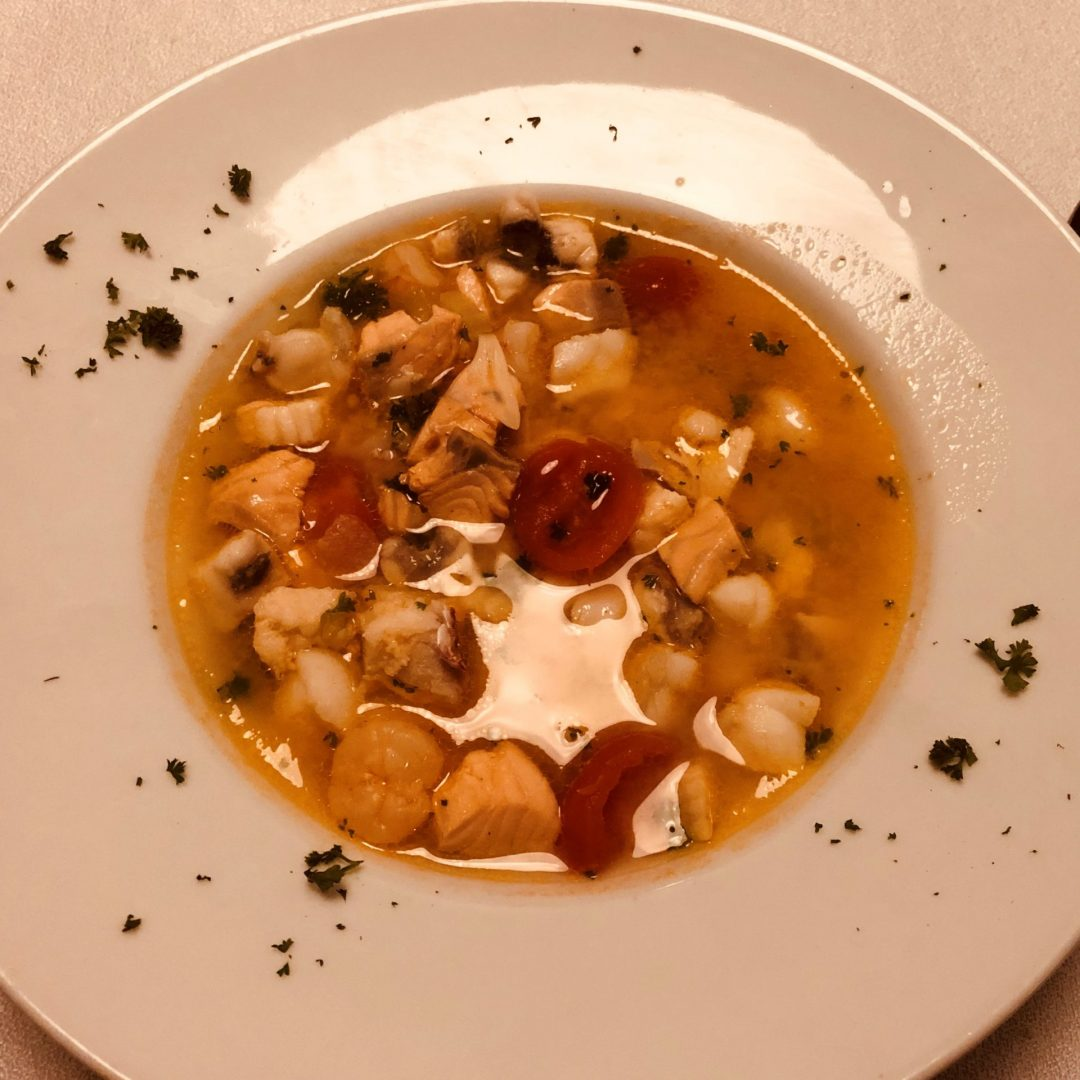 Fischsuppe Pesce